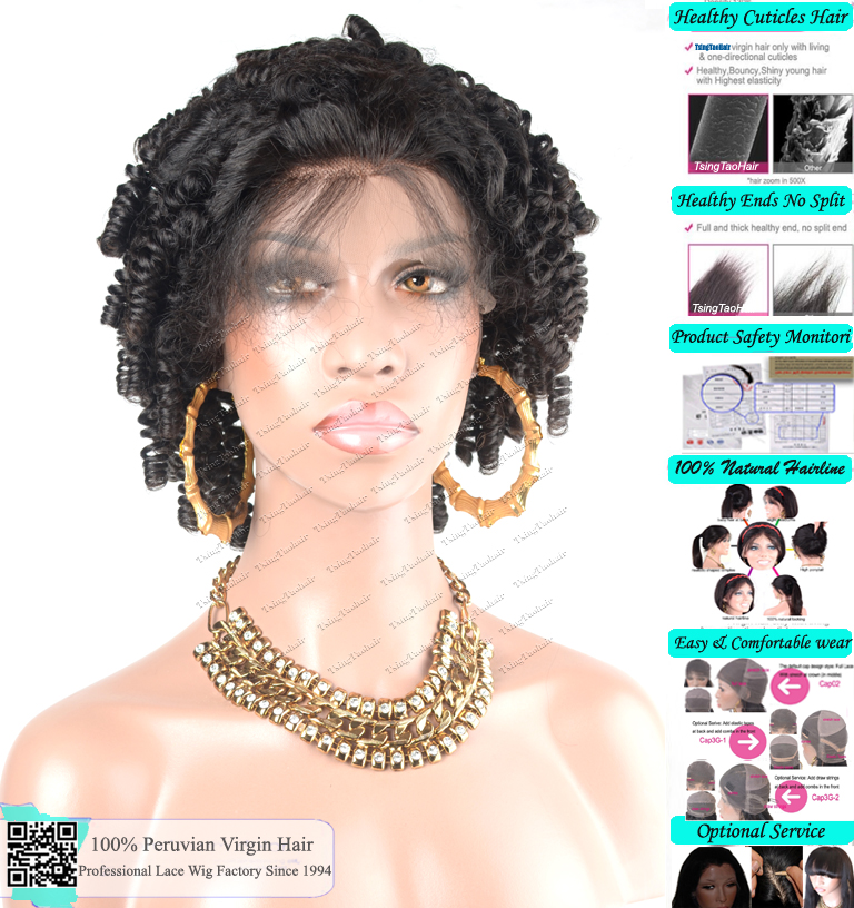 Full Lace Wigs Curly