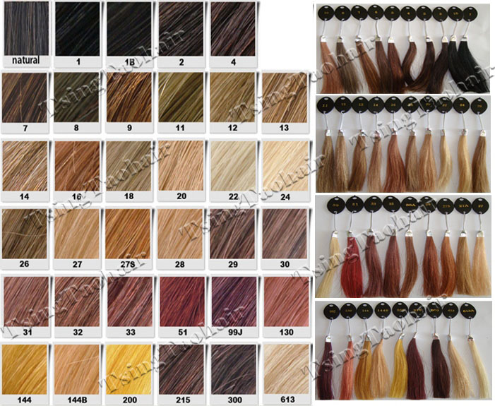 Hair Color Chart. Harmony Wholesale 46Colors Color Chart Hair